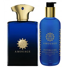 Amouage Interlude Man - набор (edp 100 ml +300 ml s\g)
