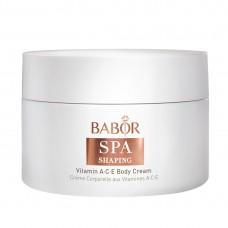 BABOR Shaping Vitamin Ace Body Cream Крем для тела с витаминами асе спа шейпинг
