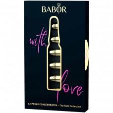 BABOR Ampoule concentrates gift set gold edition Золотое украшение на каждый день недели