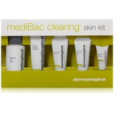 Dermalogica kit medibac clearing skin Лечебный очищающий набор для кожи с акне