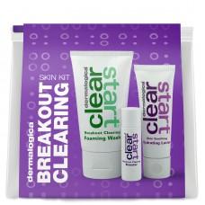Dermalogica Kit clearing breakout Лечебный очищающий набор для проблемной кожи подростков