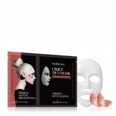 Double Dare OMG! Duo Mask - Rose золото Therapy Комплекс двухкомпонентный из маски и патчей «Укрепление и ревитализация»