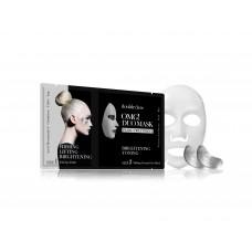 Double Dare OMG! Duo Mask - Pearl Therapy Комплекс двухкомпонентный из маски и патчей «Сияние и тонизирование»