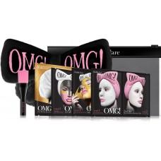 Double Dare OMG! Premium Package Black (4 Mask, 1 Hair Band, 1 Brush) Набор из 4 масок, кисти и черного банта