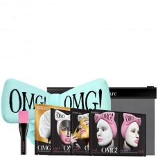 Double Dare OMG! Premium Package Black (4 Mask, 1 Hair Band, 1 Brush) Набор из 4 масок, кисти и голубого банта