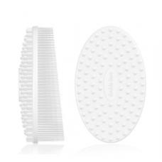 Double Dare I.M. Buddy Body (Innovative Multi-Functional Buddy) White Массажная силиконовая щетка (белый)