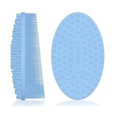 Double Dare I.M. Buddy Body (Innovative Multi-Functional Buddy) Pastel Blue Массажная силиконовая щетка (голубой)