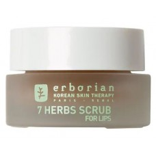 Erborian 7 Herbs Scrub For Lips Нежный скраб для губ 7 трав