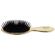 Janeke 1830 расческа для волос с карбоновыми зубчиками (золотая) Код AUSP21