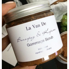 "La Van De Gommage Scrub Гоммаж для тела ""Виноград и Карите"""